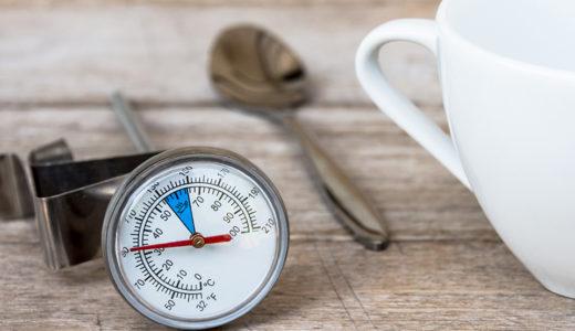 コーヒーに適した温度とは?飲み頃の温度、抽出温度や温度管理のポイントなどを解説