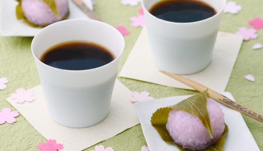 今年はインドア花見!コーヒーも春を感じるスタイリングで